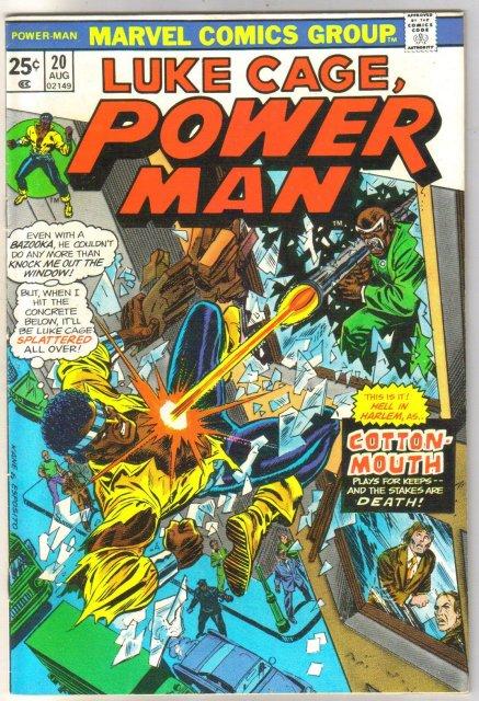 Power Man #20 comic book fine/very fine 7.0
