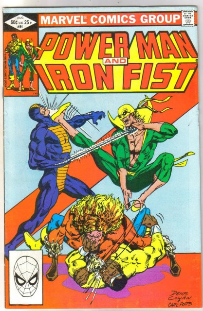 Power Man #84 comic book very fine 8.0