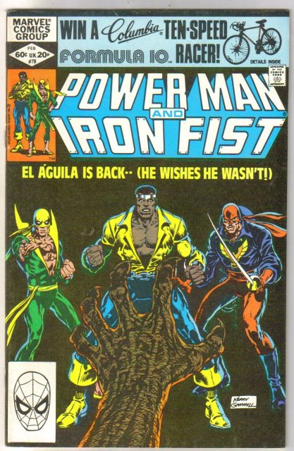 Power Man #78 comic book very fine 8.0