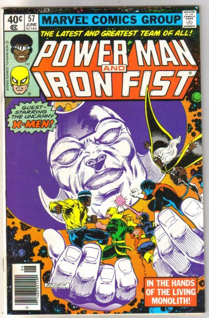 Power Man #57 comic book very fine 8.0
