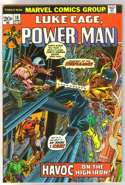 Power Man #18 comic book very fine 8.0