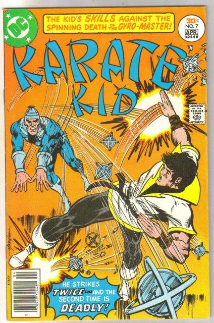 Karate Kid #7 comic book very fine 8.0