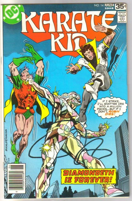 Karate Kid #14 comic book very fine/near mint 9.0