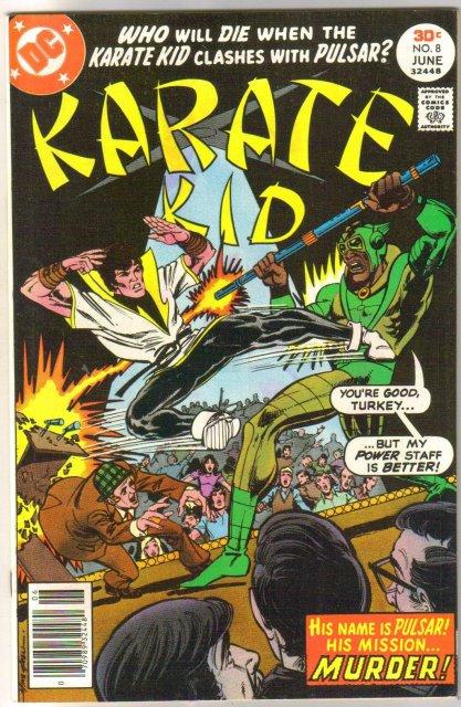 Karate Kid #8 comic book very fine/near mint 9.0
