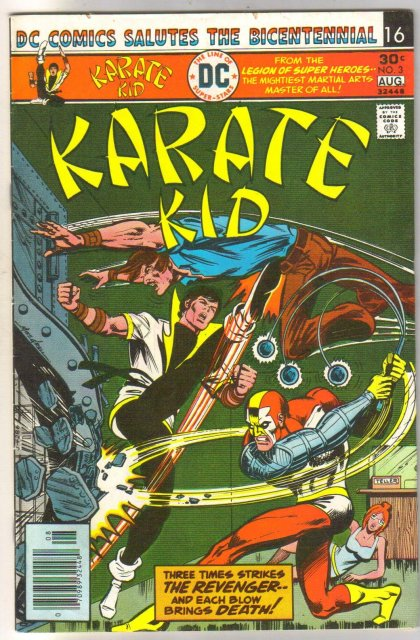 Karate Kid #3 comic book very fine/near mint 9.0
