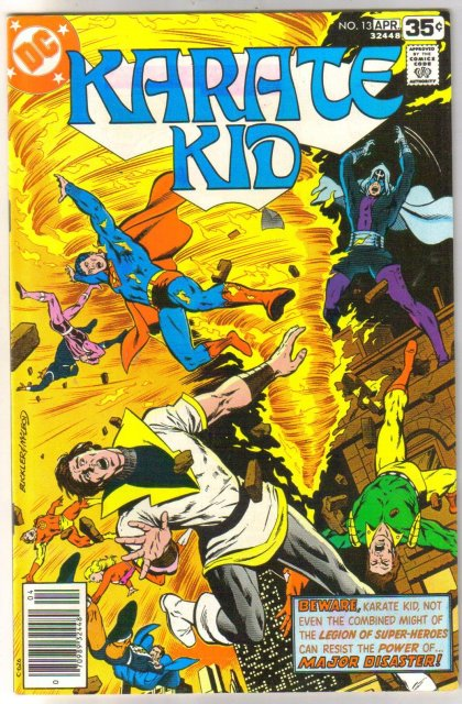 Karate Kid #13 comic book near mint 9.4