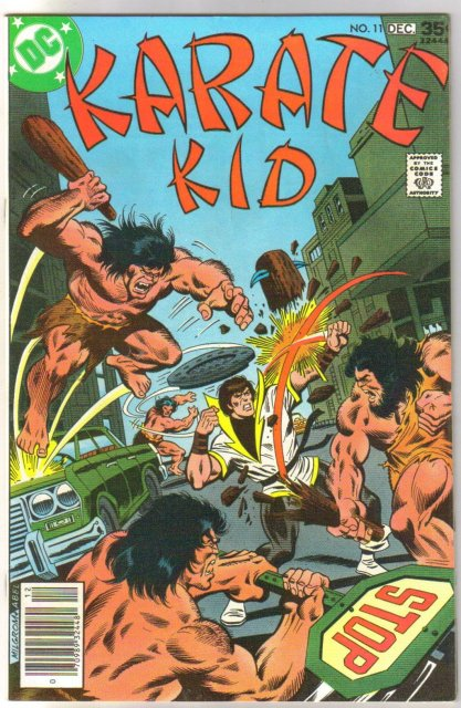 Karate Kid #11 comic book near mint 9.4