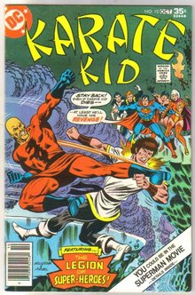 Karate Kid #10 comic book near mint 9.4