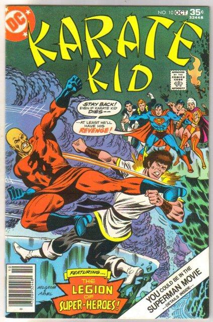 Karate Kid #10 comic book near mint 9.4