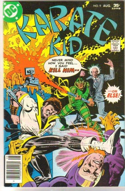 Karate Kid #9 comic book near mint 9.4