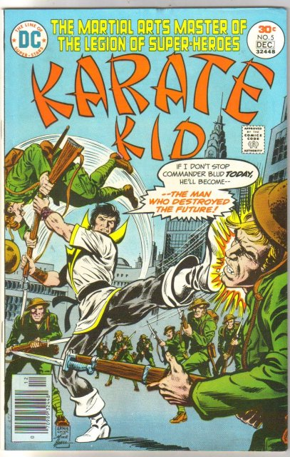 Karate Kid #5 comic book near mint 9.4