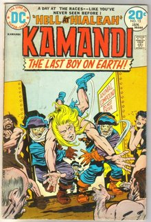 Kamandi The Last Boy on Earth #13 comic book very good/fine 5.0