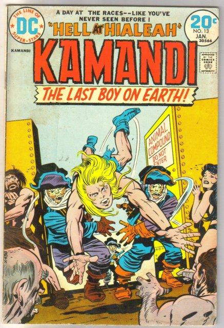 Kamandi The Last Boy on Earth #13 comic book very good/fine 5.0