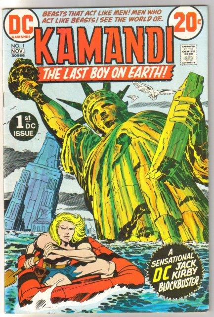Kamandi The Last Boy on Earth #1 comic book fine 6.0