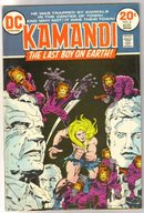 Kamandi The Last Boy on Earth #8 comic book fine 6.0