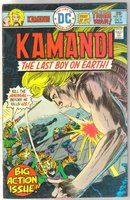 Kamandi the Last Boy on Earth #34 fine 6.0