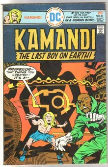 Kamandi the Last Boy on Earth #33 fine/very fine 7.0