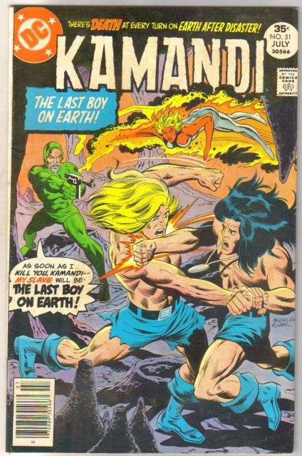 Kamandi the Last Boy on Earth #51 fine/very fine 7.0