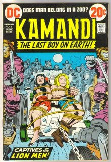 Kamandi the Last Boy on Earth #6 very fine 8.0