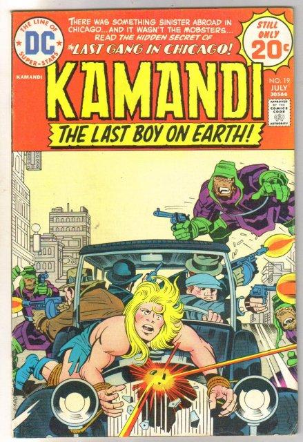 Kamandi the Last Boy on Earth #19 very fine 8.0