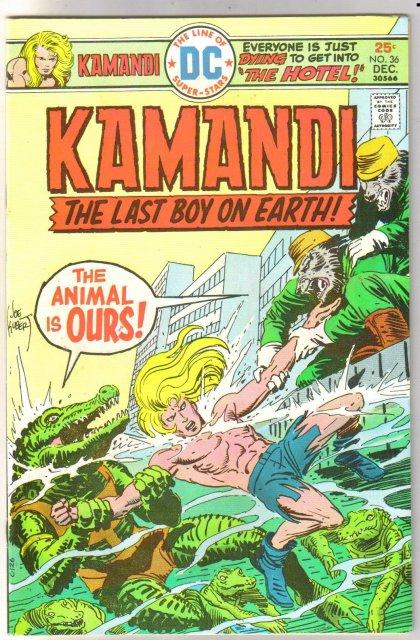Kamandi the Last Boy on Earth #36 very fine 8.0