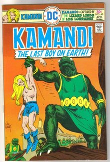 Kamandi the Last Boy on Earth #40 very fine 8.0