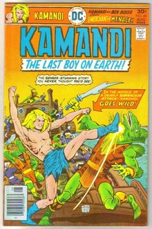 Kamandi the Last Boy on Earth #44 very fine 8.0