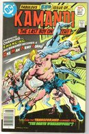 Kamandi the Last Boy on Earth #50 very fine 8.0