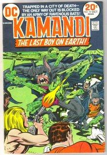 Kamandi the Last Boy on Earth #10 very fine/near mint 9.0