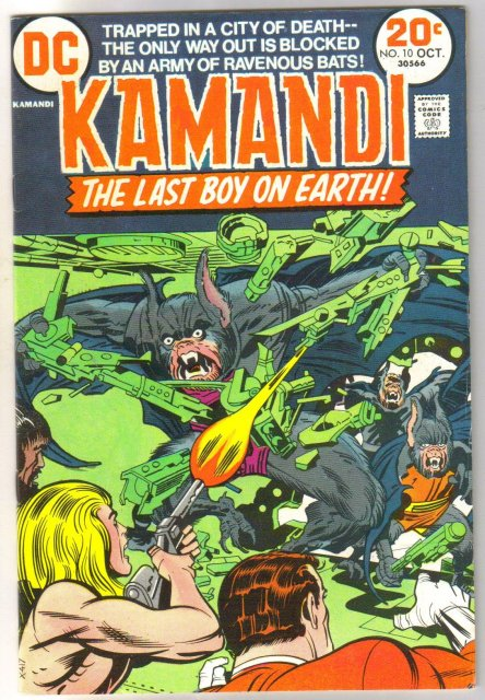 Kamandi the Last Boy on Earth #10 very fine/near mint 9.0