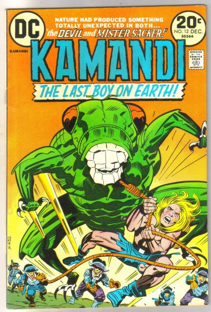 Kamandi the Last Boy on Earth #12 very fine/near mint 9.0
