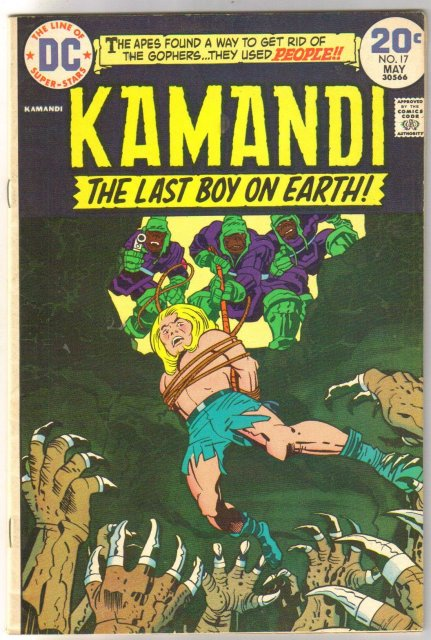 Kamandi the Last Boy on Earth #17 very fine/near mint 9.0