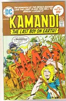 Kamandi The Last Boy on Earth! #26 comic book very fine/near mint 9.0