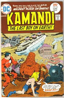 Kamandi The Last Boy on Earth! #30 comic book very fine/near mint 9.0