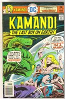 Kamandi The Last Boy on Earth! #39 comic book very fine/near mint 9.0