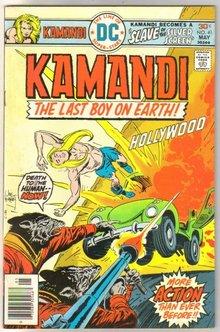 Kamandi The Last Boy on Earth! #41 comic book very fine/near mint 9.0