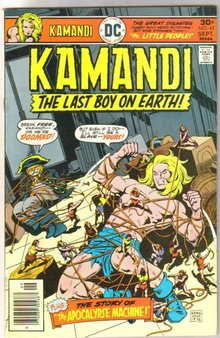Kamandi The Last Boy on Earth! #45 comic book very fine/near mint 9.0