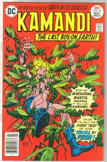 Kamandi The Last Boy on Earth! #49 comic book very fine/near mint 9.0