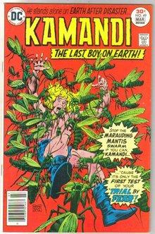 Kamandi The Last Boy on Earth! #49 comic book very fine/near mint 9.0