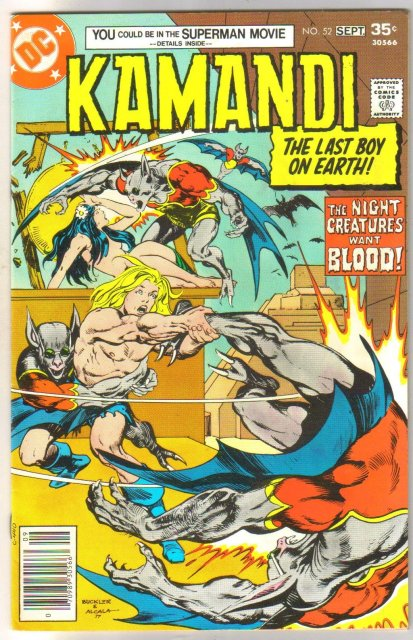 Kamandi The Last Boy on Earth! #52 comic book very fine/near mint 9.0