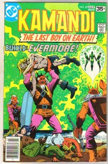 Kamandi The Last Boy on Earth! #57 comic book very fine/near mint 9.0