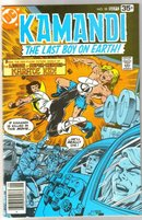 Kamandi The Last Boy on Earth! #58 comic book very fine/near mint 9.0