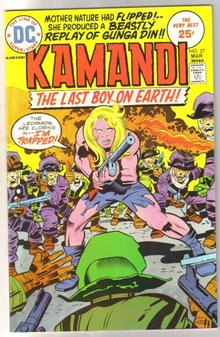 Kamandi The Last Boy on Earth! #27 comic book near mint 9.4