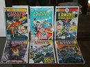 Kamandi and Karate Kid comic book collection of 6