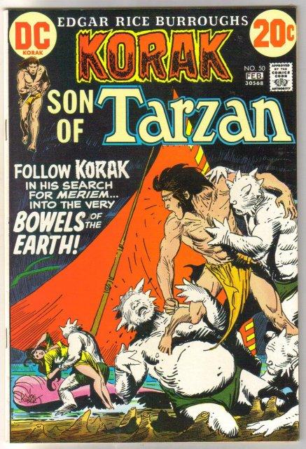 Korak Son of Tarzan #50 comic book very fine/near mint 9.0