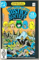 Last Days of the Justice Society of America Special #1 comic book very fine/near mint 9.0