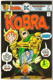Kobra #1 comic book near mint 9.4