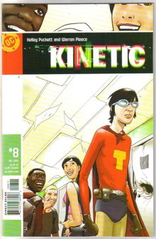 Kinetic #8 comic book mint 9.8