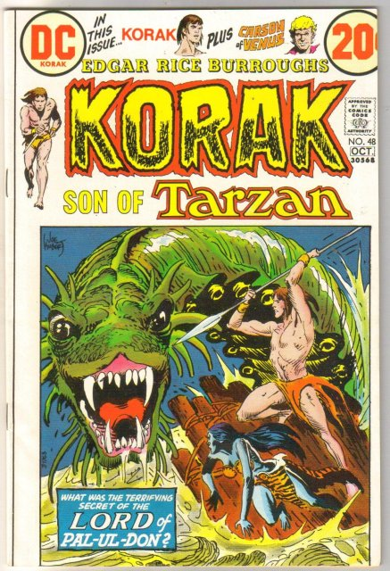 Korak Son of Tarzan #48 comic book mint 9.8