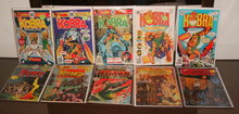 DC comic book assortment of 10